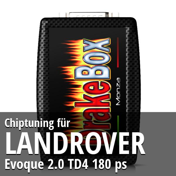 Chiptuning Landrover Evoque 2.0 TD4 180 ps