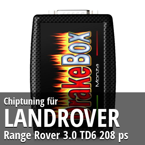 Chiptuning Landrover Range Rover 3.0 TD6 208 ps