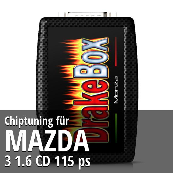 Chiptuning Mazda 3 1.6 CD 115 ps