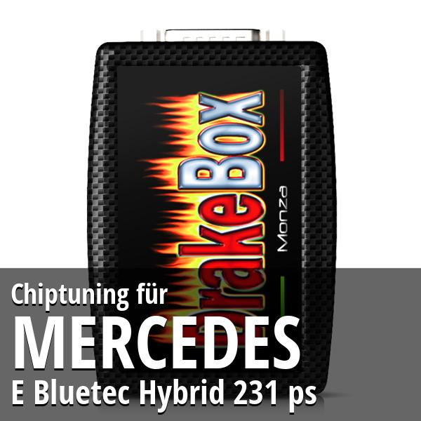 Chiptuning Mercedes E Bluetec Hybrid 231 ps