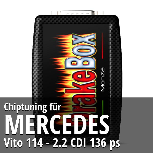 Chiptuning Mercedes Vito 114 - 2.2 CDI 136 ps
