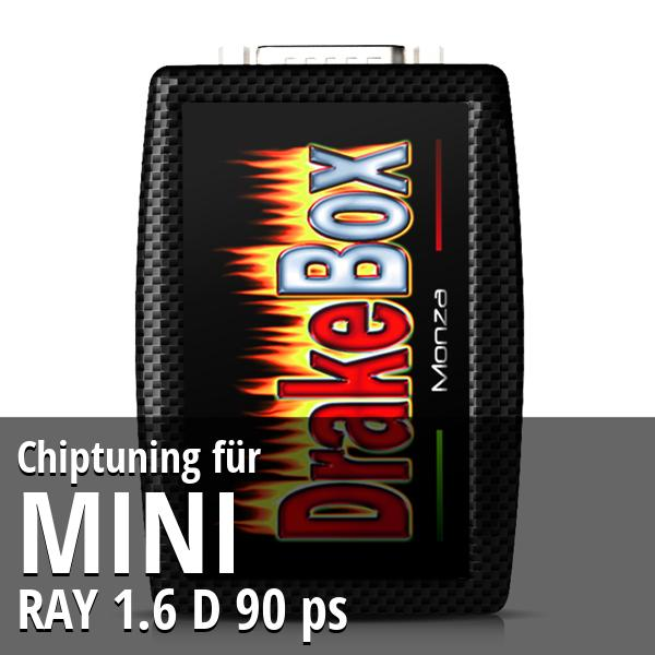 Chiptuning Mini RAY 1.6 D 90 ps