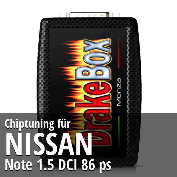 Chiptuning Nissan Note 1.5 DCI 86 ps