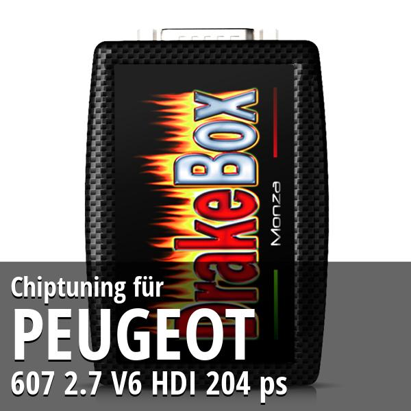 Chiptuning Peugeot 607 2.7 V6 HDI 204 ps