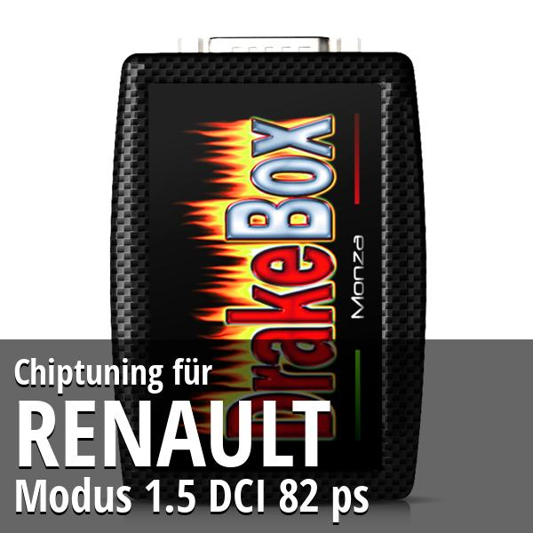 Chiptuning Renault Modus 1.5 DCI 82 ps