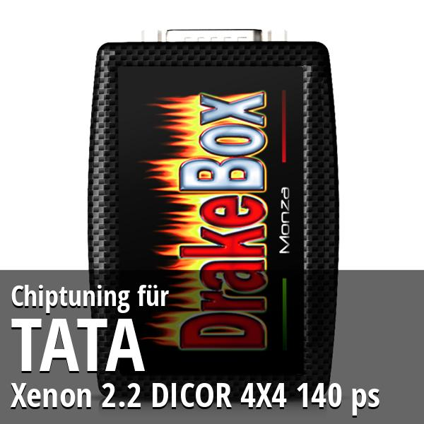 Chiptuning Tata Xenon 2.2 DICOR 4X4 140 ps