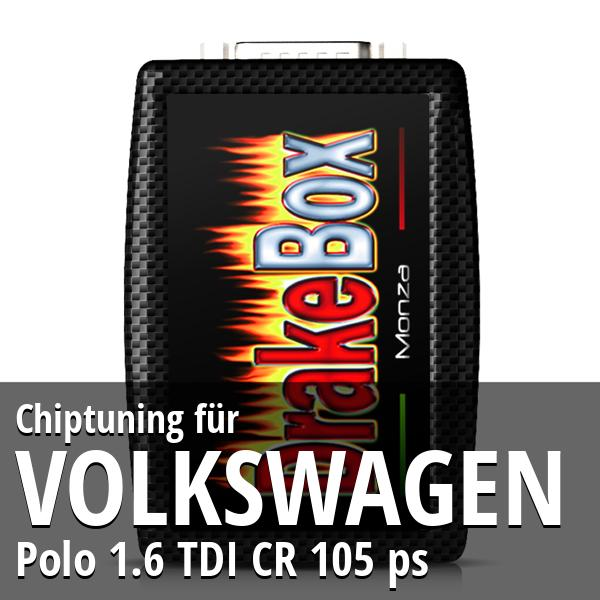 Chiptuning Volkswagen Polo 1.6 TDI CR 105 ps