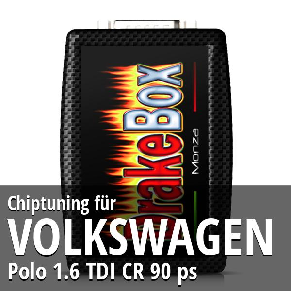 Chiptuning Volkswagen Polo 1.6 TDI CR 90 ps